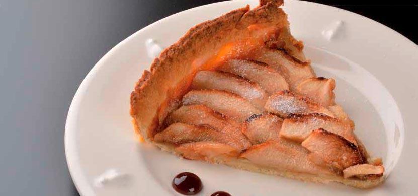 Recette tarte aux pommes et sirop de Liège