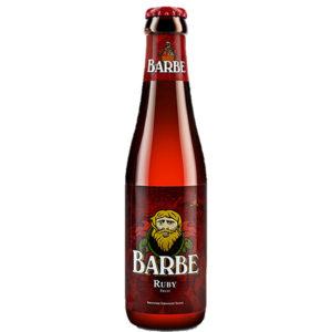 barbe ruby 33 cl bière rouge et fruitée