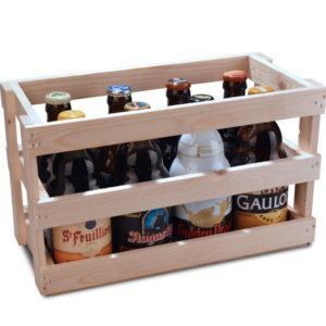 demi-mètre de bières belges