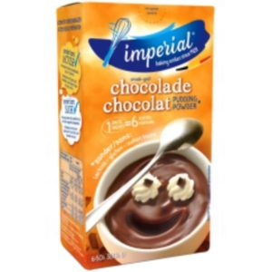 Pudding et Topping Imperial